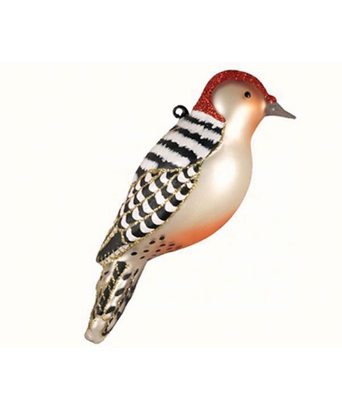 Red Bellied Woodpecker Ornament (COBANEC391)