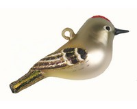 Ruby Crowned Kinglet Ornament COBANEC410