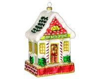 Our New Home Red and Green Ornament COBANED218
