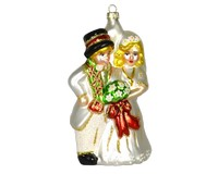Bride and Groom Ornament COBANED358