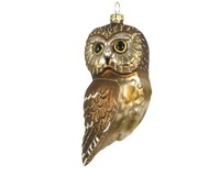 Northern Saw Whet Owl Ornament COBANED395