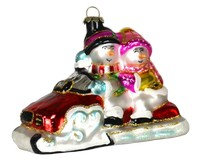 Snowmobile Buddies Ornament COBANEE131