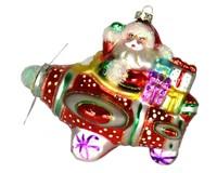 Santa Airplane Ride Ornament COBANEE353