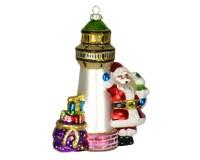 Santa's Lighthouse Ornament COBANEE355