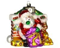 Santa's Secret Ornament COBANEE357