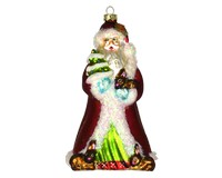 Father Christmas with Bunnies Ornament COBANEE381'