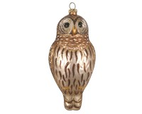 Barred Owl Ornament COBANEE415