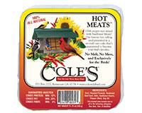 Hot Meats Suet Cake + Freight-COLESGCHMSU