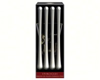 Nicholas, Stircicles, Stainless Steel Drink Stirrers (Set of 4)-CP00945