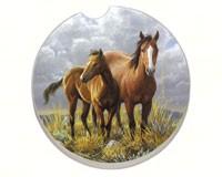 Horses Car Coaster-CART09889