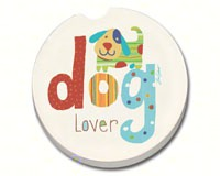 Dog Lover Car Coaster-CART10714