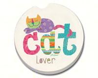 Cat Lover Car Coaster-CART10878
