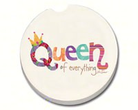 Queen of Everything Car Coaster-CART10894