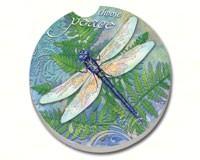 Dragonfly Inspiration Car Coaster-CART11316
