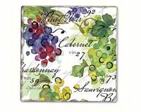 Vin 27 Single Tumbled Tile Coaster-CART11918