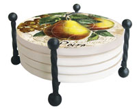 Wire Round Coaster Holder-CART14917