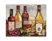 Wine Time Glass Counter Saver-CART23049
