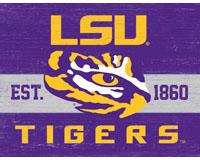 LSU Tigers Large Cutting Board-CART23797