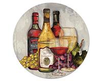 Wine Time Lazy Susan-CART23949