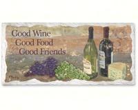 Sign - Good Wine Decor-CART33066