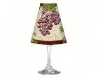 Wine Glass Shade Old World Fruit-CART33384