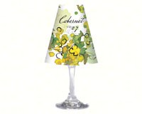 Wine Glass Shade Vin 27-CART33418
