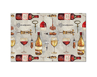 Wine Time Paper Placemats (24 per set)-CART47749