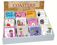Sassy Ladies Assortment withCounter Display (72 coasters)-CART91711
