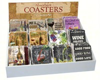 Love Wine Assortment withCounter Display (72 coasters)-CART91713