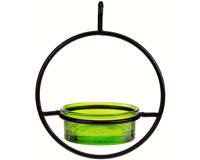 7.25 Inch Lime Hanging Sphere Feeder-COURM04520001