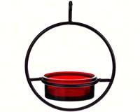 7.25 Inch Red Sphere Hanger Feeder-COURM04520006