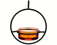 Orange Sphere Hanger Feeder-COURM04520008