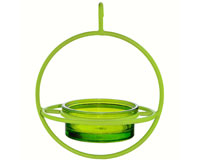 7.25 Inch Lime Hanging Sphere Feeder with Perch-COURM047200L