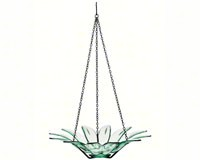 12 inch Daisy Bird Bath Clear-COURM34920000