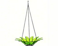 12 inch Daisy Bird Bath Lime-COURM34920001