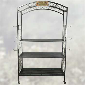 3 Tier Arch Display withWheels & 24 Hooks + Freight-COYNESNGARCHDSP