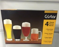 Craft Beer 4 pk Set-CR9555ELHE