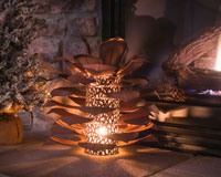 Pine Cone Luminary-DS412000