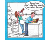 Reduce The Wine Cocktail Napkins-DESIGN62407162