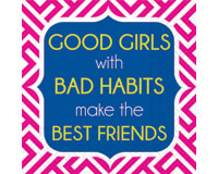 Bad Habits Cocktail Napkins-DESIGN62407176