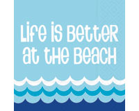 Life is Better Cocktail Napkins-DESIGN62407357