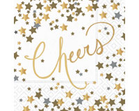 Confetti Cheers Cocktail Napkin-DESIGN62407508