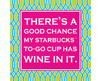There's A Good Chance Cocktail Napkins 20 ct.-DESIGN62407985