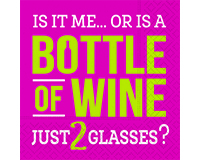 Just Two Glasses Cocktail Napkins-DESIGN62408223