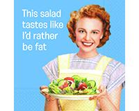 I'd Rather Be Fat Cocktail Napkins-DESIGN62409000