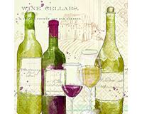 Vintage Beverage Napkins-DESIGN62409457