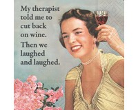 Therapist Joke Cocktail Napkin-DESIGN62409485