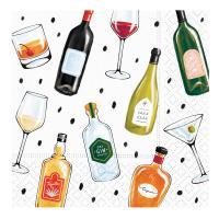 Perfect Pairings Beverage Napkins-DESIGN62409939