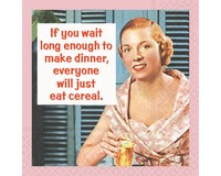 Everyone Will Just Eat Ceral Cocktail Napkin-DESIGN62410062