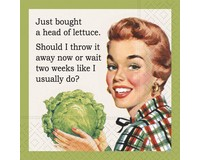 Just Bought Lettuce Cocktail Napkin-DESIGN62410069